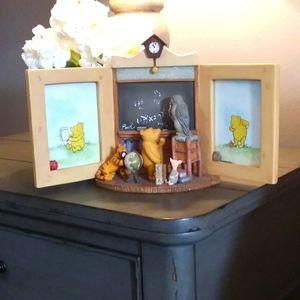 Classic Pooh porceline picture frame